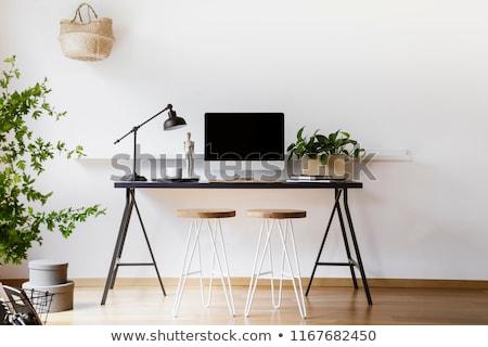 Eenvoudige freelance kantoorwerk plaats voorraad foto Stockfoto © nalinratphi
