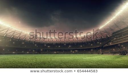 Stock photo: Football stadium
