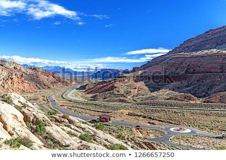 entrance, Arches NP, Utah, USA Stock photo © phbcz