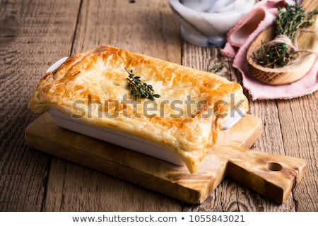 Home made turkey pot pie Stock photo © MSPhotographic