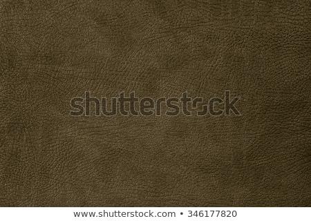 Grunge leder textuur achtergrond Rood huid Stockfoto © tarczas