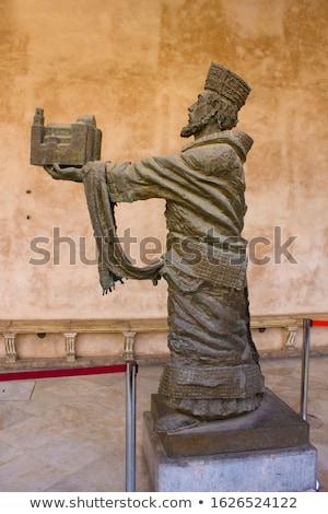 Király felajánlás katedrális szűz jó példa Stock fotó © ankarb
