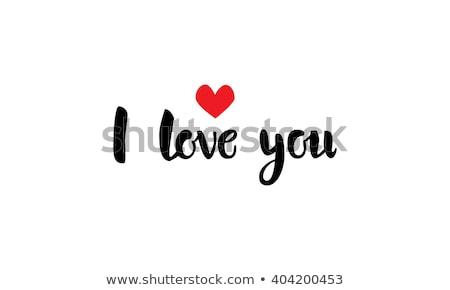 amor · mensaje · escritorio · café · papel · fondo - foto stock © fuzzbones0
