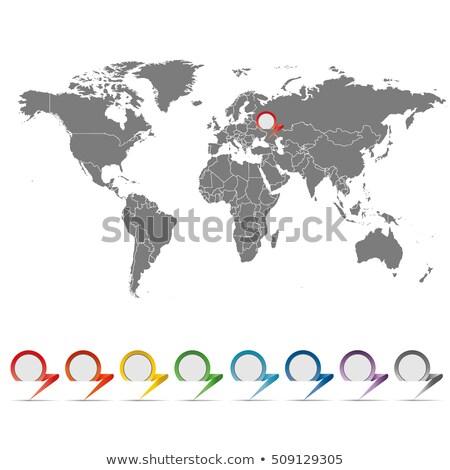 Stock fotó: Eredeti · diagram · zöld · tő · üzlet · információ