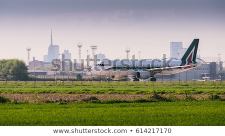 Airport in Milan Italy Stock photo © jeancliclac