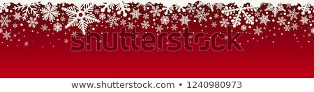 Christmas banner vector kerstmis Stockfoto © beaubelle