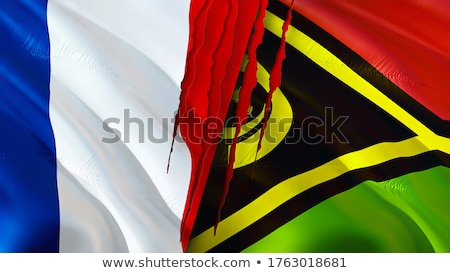 France and Vanuatu Flags  Stock photo © Istanbul2009