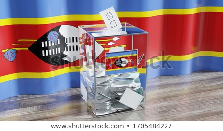 Ballot box Swaziland Stock photo © Ustofre9