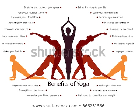 benefits of yoga Stock photo © adrenalina