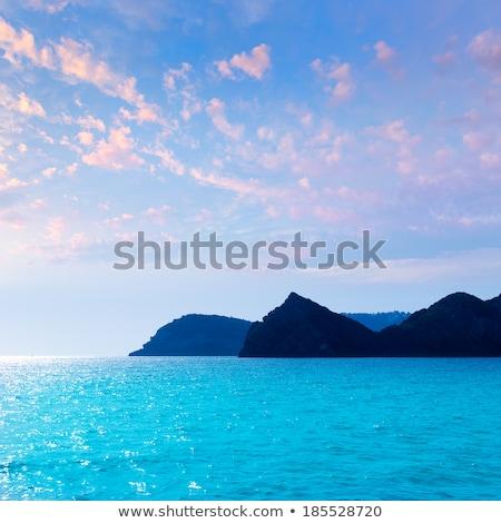 Xabia Javea Mediterranean sea in Alicante Stock photo © lunamarina
