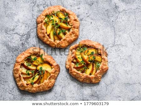 ミニ デザート パイ フルーツ 充填 食品 ストックフォト © Digifoodstock