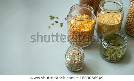Voedsel jar lege geïsoleerd witte abstract Stockfoto © kitch