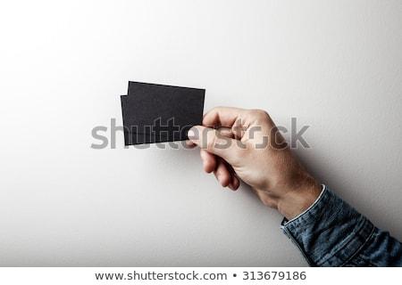 man · show · witte · vel · boek · technologie - stockfoto © customdesigner