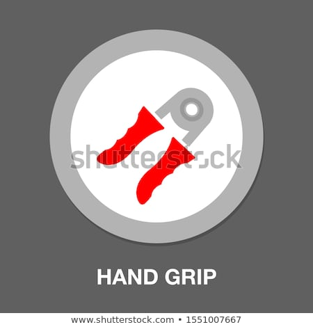 Hands expander icon Stock photo © angelp