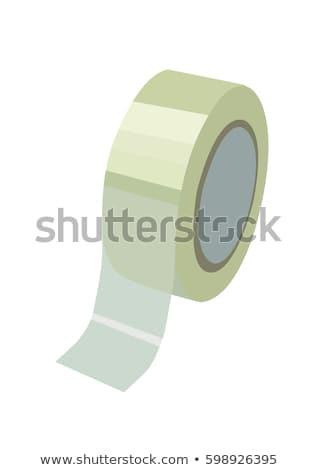 roll of adhesive tape sketch icon stock photo © rastudio