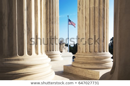 Columns on Federal Building Stock photo © BrandonSeidel