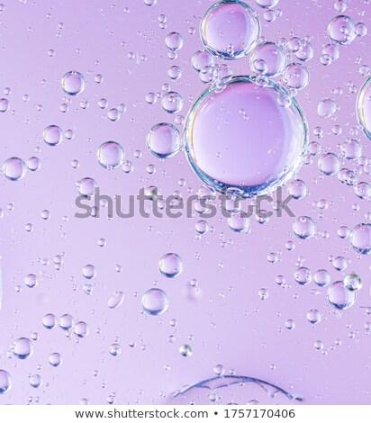нефть капли воды пузыря розовый аннотация Сток-фото © kurkalukas