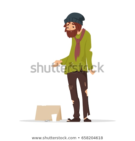 poor man in torn clothes begging money. Stock photo © curiosity