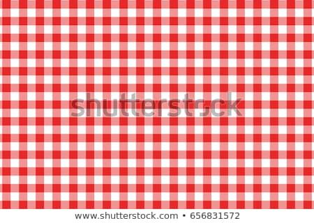pattern · picnic · tovaglia · vettore · alimentare · abstract - foto d'archivio © andrei_