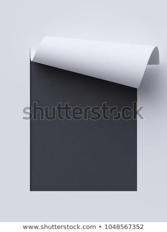 Black Chalkboard with Documents. 3D Rendering. Stock photo © tashatuvango