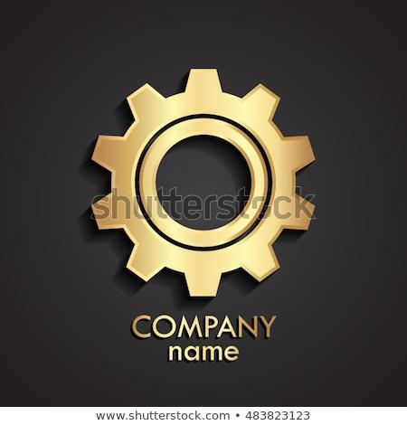 Voiture industrie mécanisme brillant métal Cog Photo stock © tashatuvango