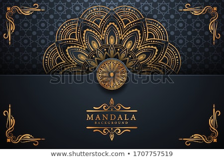 Luxe or mandala art vecteur yoga Photo stock © SArts