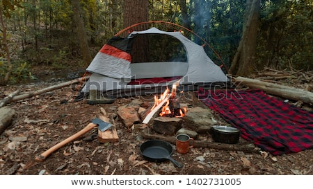 Wilderness Campsite Stock photo © wildnerdpix