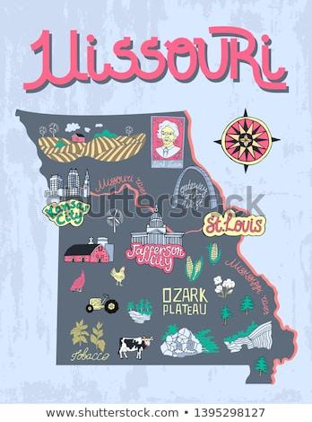 Cartoon Missouri Stock photo © cthoman