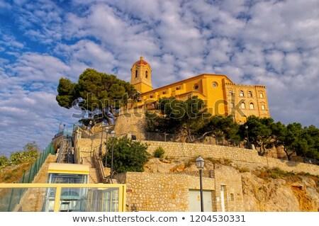 Cullera Santuario de la Virgen del Castillo, Province Valencia Stock photo © LianeM