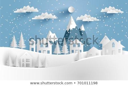 zimą · nastrój · wzrosła · biodro · drzewo - zdjęcia stock © robuart