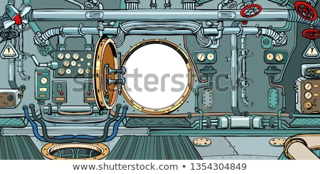 compartment or command deck of a submarine stock photo © studiostoks