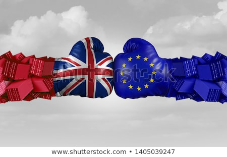 uk and eu trade challenge stock photo © lightsource