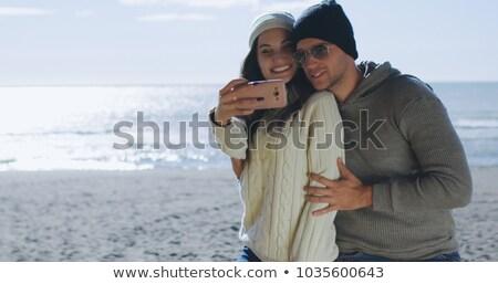 randizás · fiatal · pér · boldog · szeretet · elvesz · fotó - stock fotó © dolgachov
