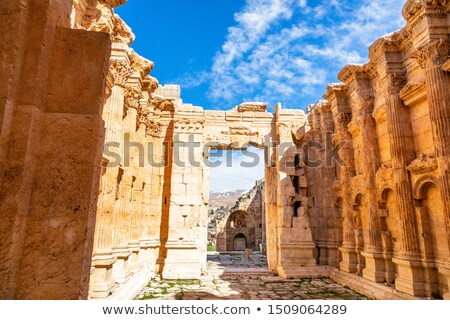antieke · kolom · plaats · kunst · ruimte · steen - stockfoto © robuart