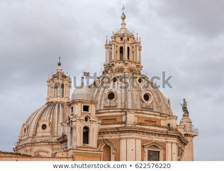 教会 聖なる 名前 列 フォーラム ローマ ストックフォト © borisb17