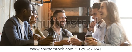 Amigos diversidade tempo juntos grupo Foto stock © Kzenon