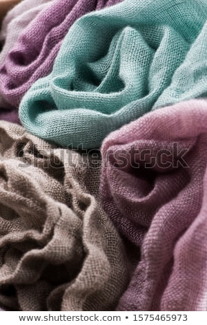 Multicolored textile with violet tones and colorful accents and  Stock photo © joannawnuk