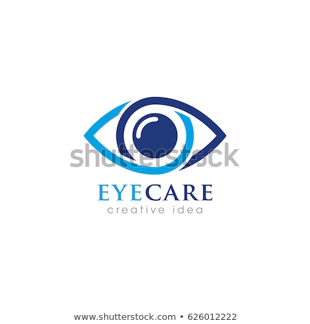 beauty eye logo symbol icon design vector Stock photo © gothappy
