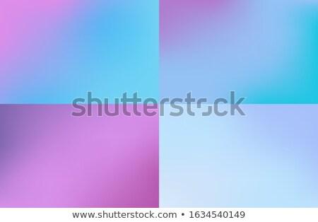 Pastel turva conjunto futurista aquarela Foto stock © Andrei_