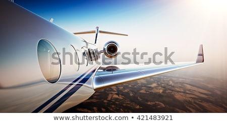 Air plane desert Stock photo © orla