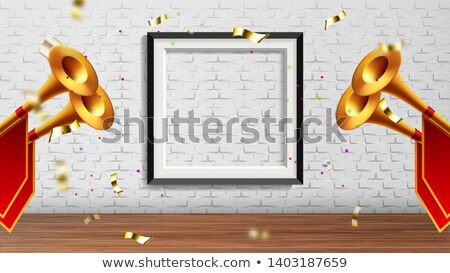Enchanting Presentation In Exhibition Hall Vector Stock photo © pikepicture