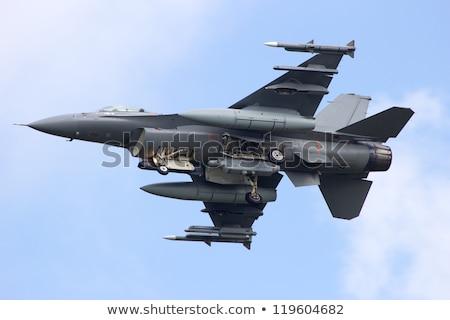 Military aircraft in air combat Stock photo © jossdiim