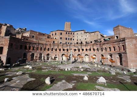 Trajan Market (Mercati Traianei) in Rome, Italy  Stock photo © vladacanon