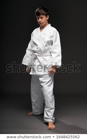 Karate boy Stock photo © Paha_L