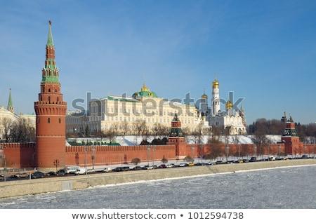 Kremlin kış su araba yol pencere Stok fotoğraf © Paha_L