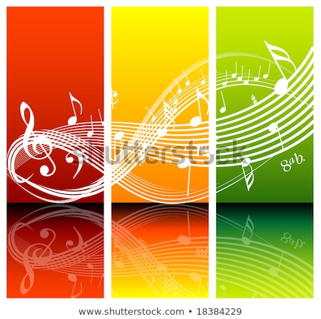 Fresh music theme Stock photo © orson