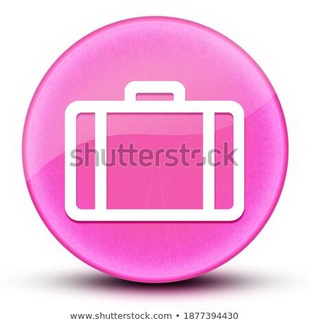 Abstract glanzend aktetas icon ontwerp achtergrond Stockfoto © pathakdesigner