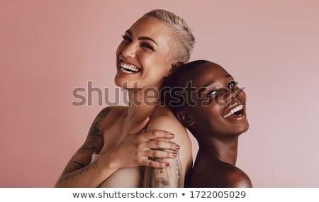 Hát gyönyörű nő nő szexi szépség fürdő Stock fotó © ssuaphoto