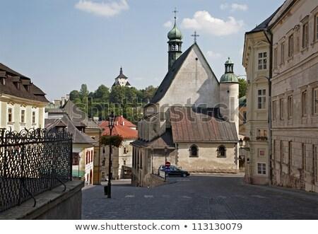 Square of St. Trinity, Banska Stiavnica, Slovakia Stock photo © phbcz