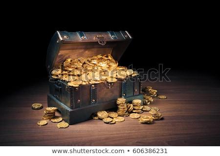 オープン · 銀行 · 安全 · コイン · 金属 - ストックフォト © loopall